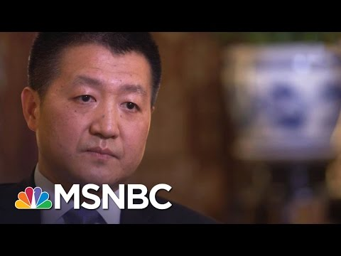 China Responds To President Donald Trump On New Relationship | Andrea Mitchell | MSNBC