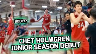 """Chet Holmgren CATCHING BODIES In FIRST GAME!? 7'0"""" Guard Drops 29 Points & Leads Minnehaha In W! 🔥"""