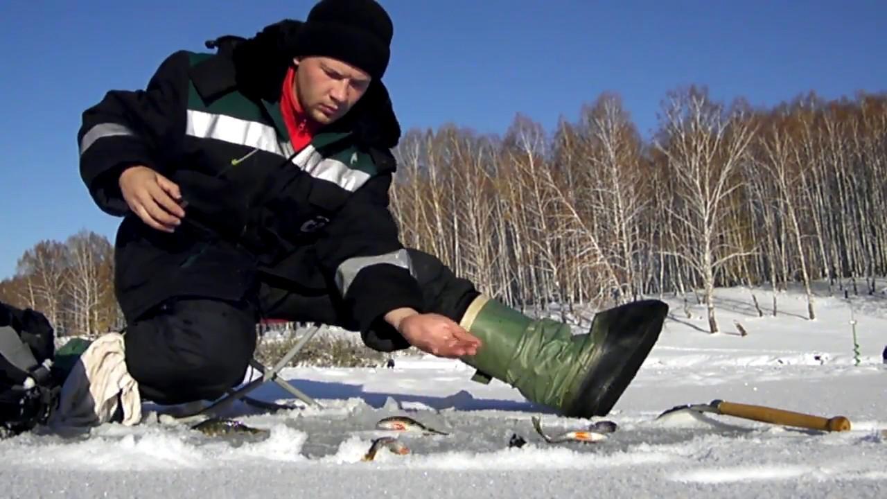 Зимняя рыбалка в кемерово
