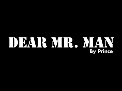 Dear Mr. Man By Prince