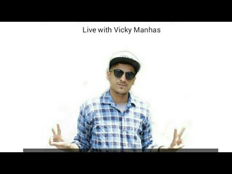 Live with Vicky Manhas | Boom Boom Bhaderwahi Rap launch | The Chenab Times