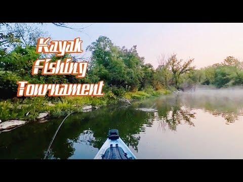 Kayak Fishing Tournament- Wilson State Fishing Lake Kansas