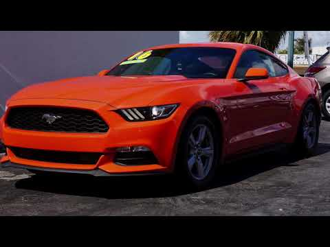 For sale 2016 Ford Mustang, 6 speed manual