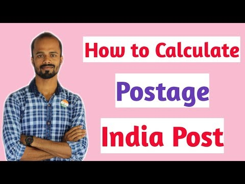 How To Calculate India Post Postage