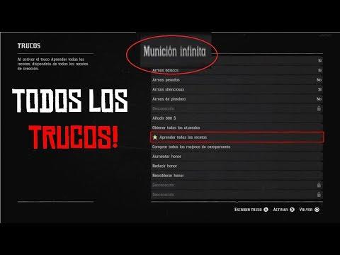 LOS TRUCOS OCULTOS DE RED DEAD REDEMPTION 2 | all cheats of rdr2