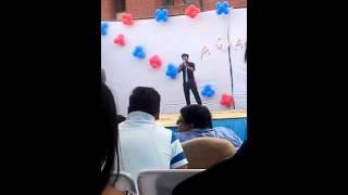 HAAN HASI BAN GAYE   MD. SABBAR IMAM   #freshers2k15   Amity University
