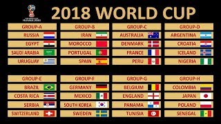 Fifa World Cup Official Schedule-2018