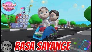 RASA SAYANGE | 3D | Lagu Daerah | Lagu Anak Indonesia