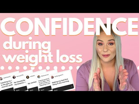 How to GAIN confidence during weight loss | Love yourself!
