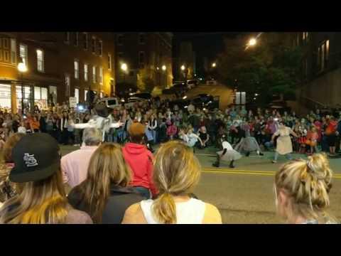 Alton IL Halloween Parade - 100 Years - Flash Mob - 2016 - #1