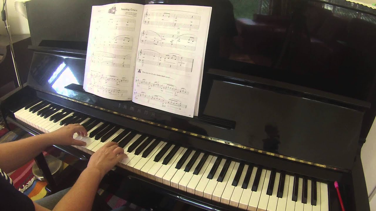 amazing grace accelerated piano adventures for the older beginner
