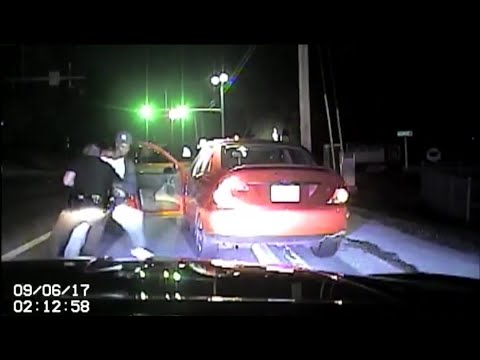 Police officer attacked during routine traffic stop