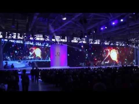 Празднование 20-летия AVON в России. Конференция 4 квартала.