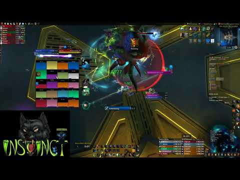 Instinct vs. Zek'voz Mythic (Resto Shaman PoV) Thumbnail