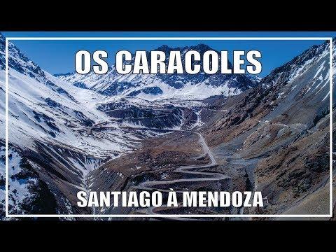 Os Caracoles, Santiago no Chile à Mendoza na Argentina - DIA 01
