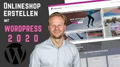 Onlineshop Erstellen mit WordPress 2018 - WooCommerce Tutorial
