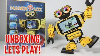 UNBOXING & LETS PLAY - HandiBlox - STEM Programmable Robot Building & Coding - FULL REVIEW!