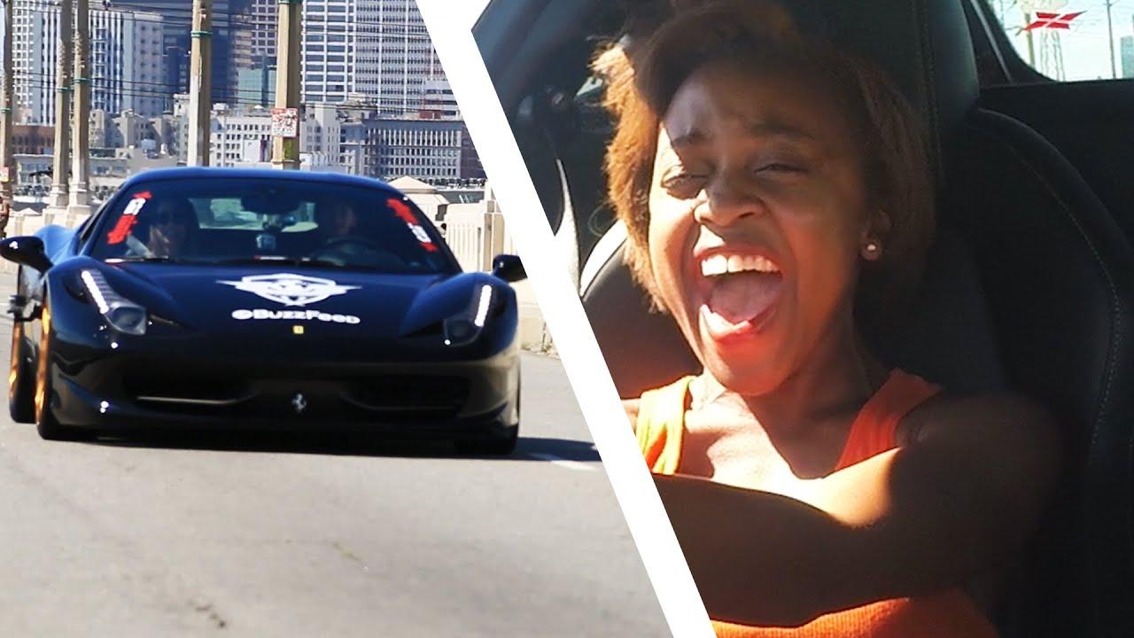Four Girls Go Drag Racing - YouTube