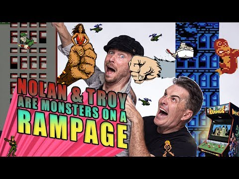 Nolan North and Troy Baker are Monsters on a Rampage!