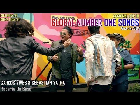 GLOBAL NUMBER ONE SONGS (week 44 / 2017)