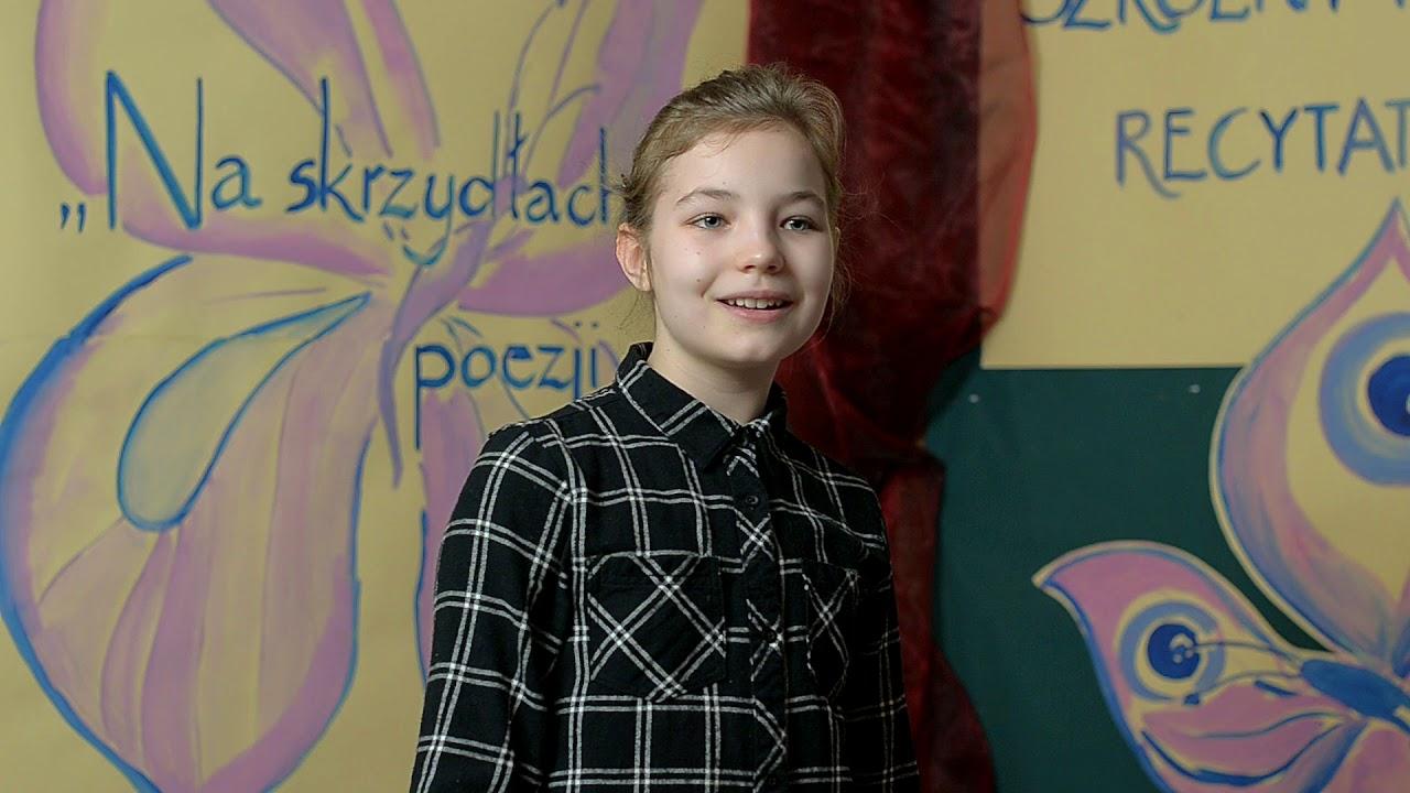 Kamila Misztal Recytuje Wiersz Kuzynka