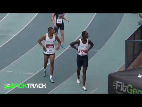 Dambile and Maswanganyi head-to-head in 200m heat!!!