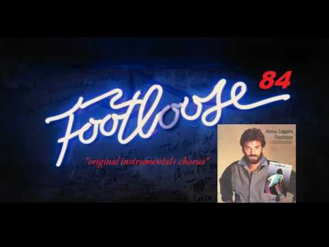 "Kenny Loggins ""FOOTLOOSE ORIGINAL INSTRUMENTAL + Chorus"""