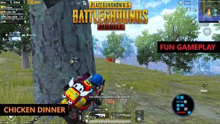 PUBG MOBILE | FUN GAMEPLAY AMAZING SQUAD CHICKEN DINNER
