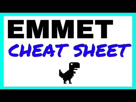 Emmet Cheat Sheet