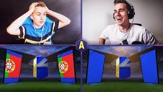 2x POTĘŻNY TOTS LA LIGA W PACK AND PLAY! QS TOTS! ADRYAN VS DAVCZO | FIFA 18