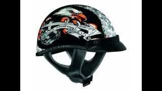 Vega Semper Fi Adult XTA Open Face Motorcycle Helmet
