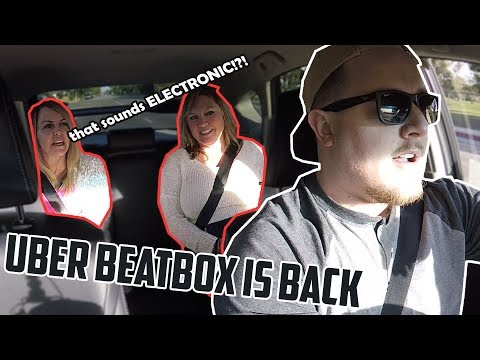 When your Uber driver's a Beatboxer...
