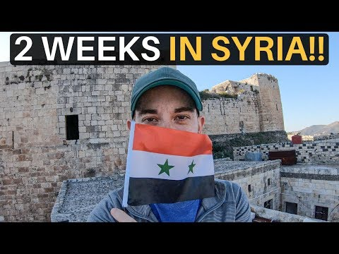 2 WEEKS IN SYRIA 🇸🇾(not what you'd expect!)