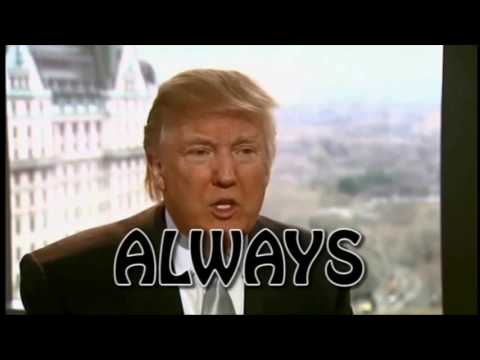 A Donald Trump Montage:  Christianity Religion Philosophy Biography