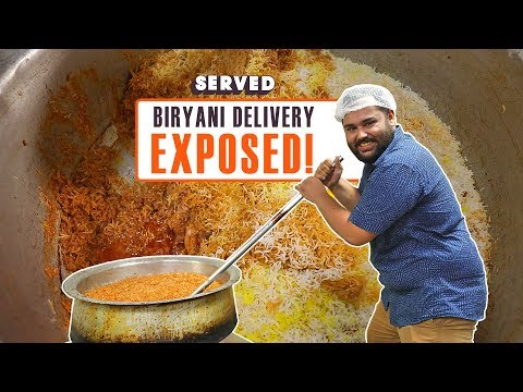 Discovering the Best Biryani Delivery in Delhi | Indian Street Food | Served#09