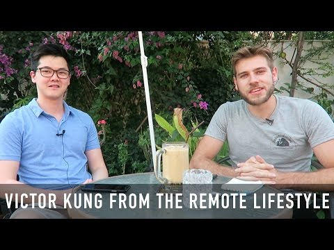 4 STEPS TO LIVING THE REMOTE LIFESTYLE (Interview with Victor Kung)