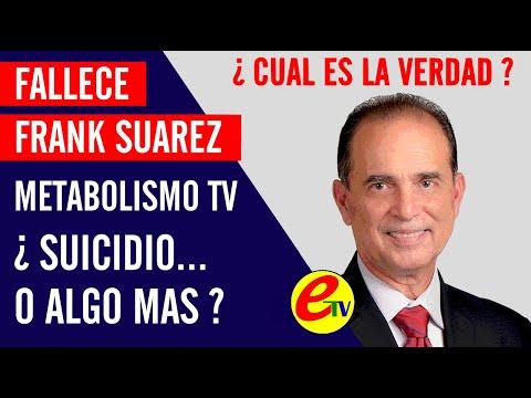 ✔ FALLECE FRANK SUAREZ DE METABOLISMO TV | ¿ SUICIDIO O ALGO MAS ?