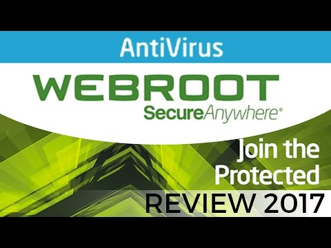 Webroot SmartSecurity Antivirus Review for 2017