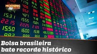 Bolsa registra patamar histórico: 110.300 pontos