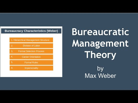 Bureaucratic Management Theory
