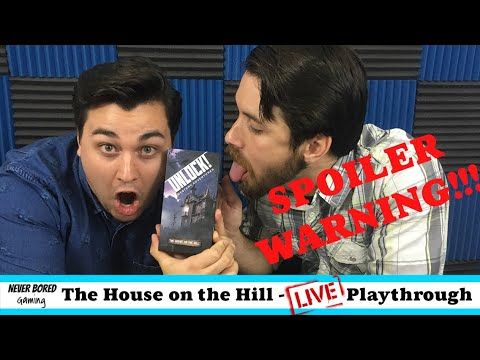 "UNLOCK! The House on The Hill - ""LIVE"" Playthrough"