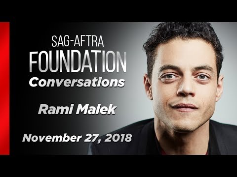 Conversations with Rami Malek