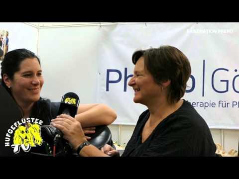 Bild: Faszination Pferd Nürnberg - Interview mit Brigitte Görz, Fürth, Mobile Pferdephysiotherapie-Praxis