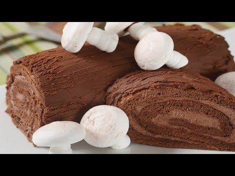 Yule Log Recipe Demonstration - Joyofbaking.com