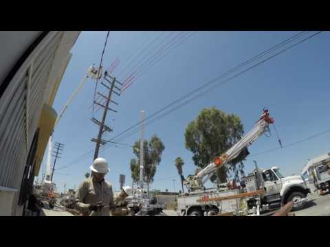 Montebello District 22 70' Pole Change Out