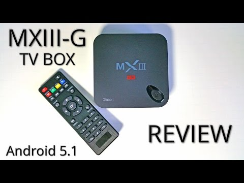 MXIII-G TV Box REVIEW - Amlogic S812, 2GB RAM, Android 5.1