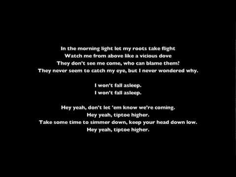 Imagine Dragons - Tiptoe lyrics