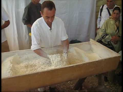 Sourdough Bread Kneading By Hand Nicolas Supiot Youtube