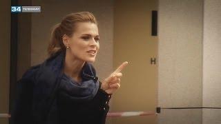 Ольга Фреймут в программе «ЛЮДИ»(От чего ведущая Ольга Фреймут никогда не откажется ради работы, как ей удается совмещать личную жизнь со..., 2013-10-17T09:48:36.000Z)