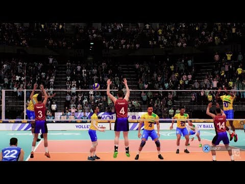 Spike Volleyball - PS4 Gameplay (1080p60fps)